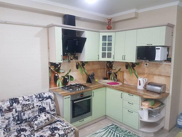 Новая уютная квартира в престижном районе Анапы