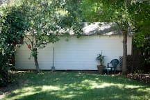 Access to backyard