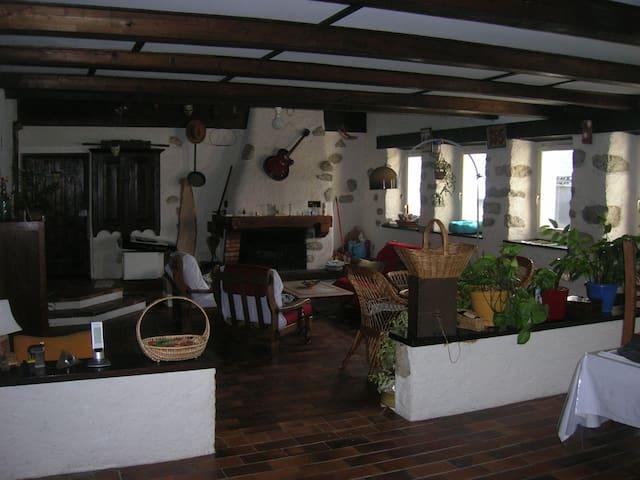 Chambres dans maison proche des stations de ski - Chevenoz - Huis