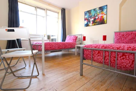 Walk to London Eye with Balcony (KNG) - London - Apartment
