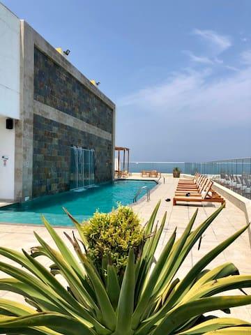 Lujoso apartamento Palmetto Beach Cartagena
