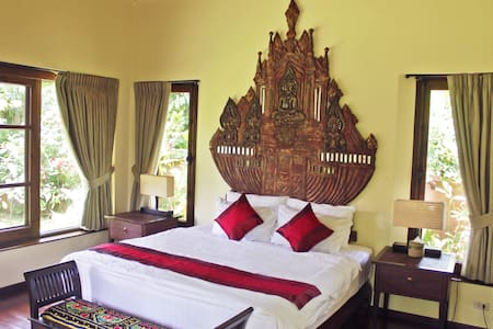 Tranquil Bedroom in Stunning Paradise Villa - Doi Saket