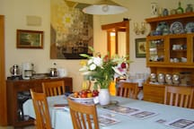 Dining room - breakfast available as part of the price. Continental plus light cooked breakfast, at your convenience.