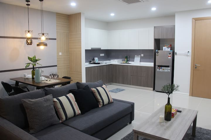 Minimalist design living area