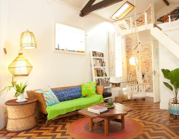 Designers loft in a charming vila
