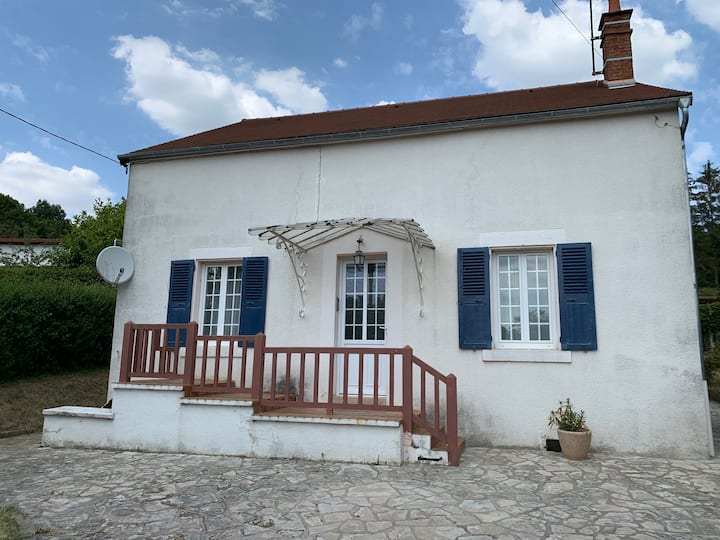 Cottage in Burgundy near Vezelay