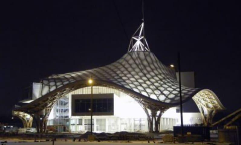 centre Pompidou de nuit...