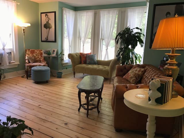Downtown Historic Entire Home, Walkable to Track!