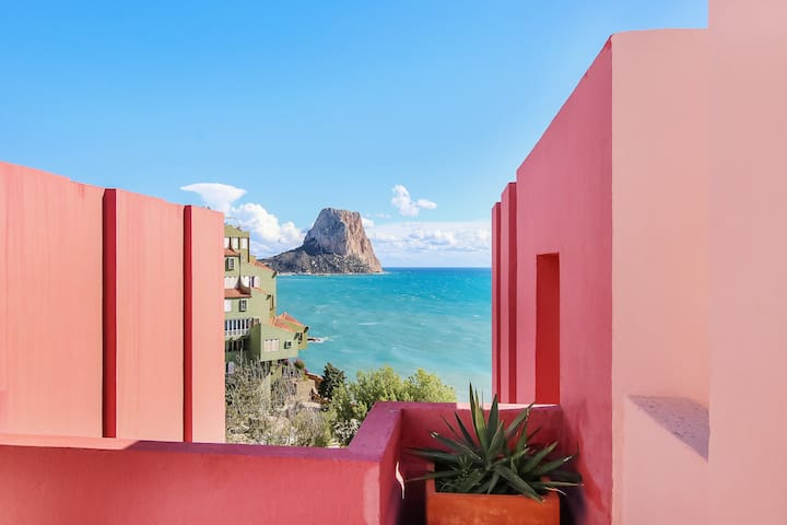 Coral Apartment in Muralla Roja, Vistas al Mar