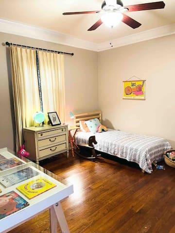 Second bedroom, office, guest room