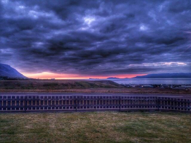 ocean & island view - Sauðárkrókur - Ev