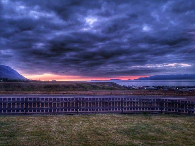 ocean & island view - Sauðárkrókur - Casa