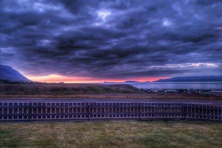 ocean & island view - Sauðárkrókur