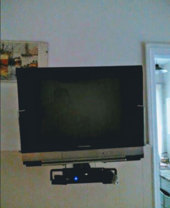El televisor cuenta con el servicio de Direc-tv. INCLUIDO.