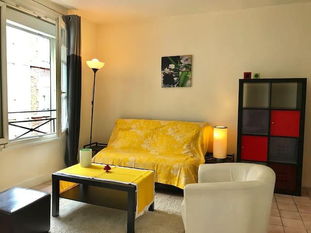 Best Location & Cozy Studio for Nice Stay in Paris