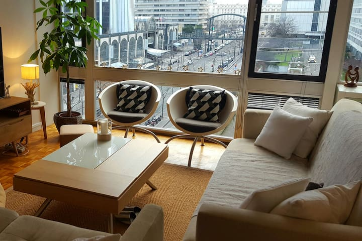 3 room flat in Montparnasse, center of paris