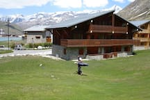 Chalet Grand Cap au pied du golf