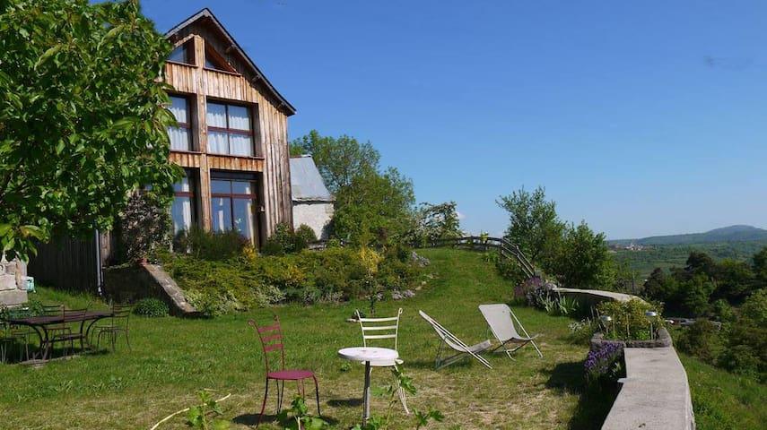 Ecogite en Auvergne - Saint-Diéry - Földház