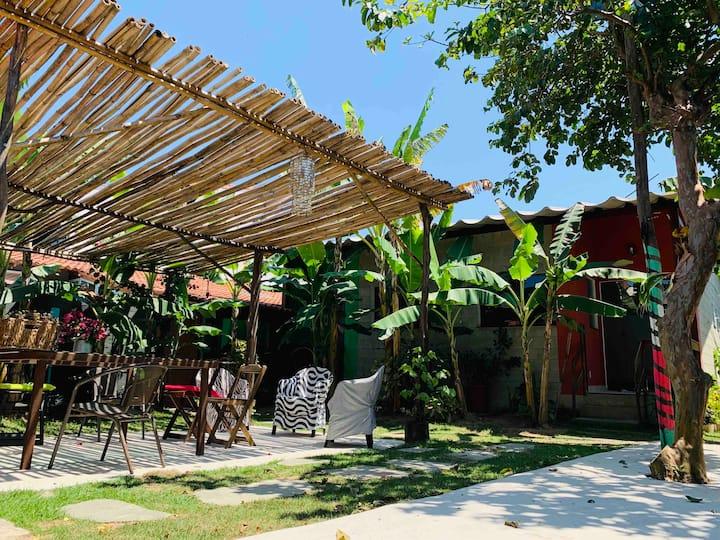 Casa Tatu do Bem: Mar + Flats | Flat Jardim