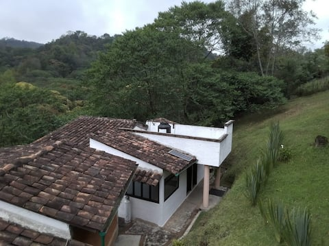 Cómoda cabaña con vista al cofre de Perote
