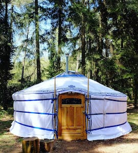 Back to basic Ger (Yurt) at Nature-camping site - Renkum - Jurtta
