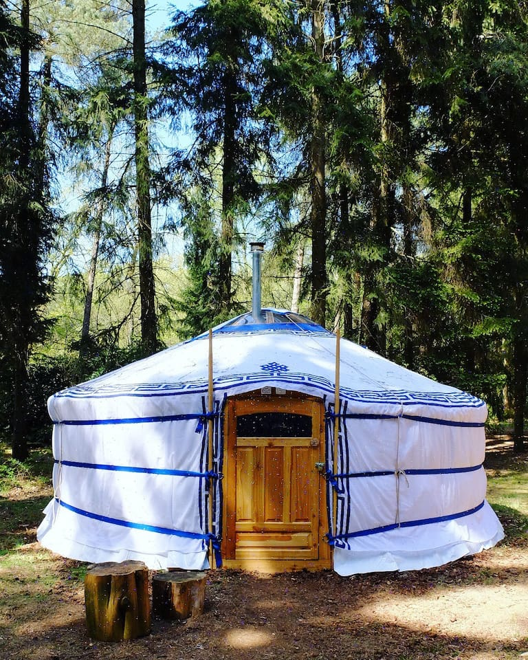 The Mongolian word  for home is: Ger, this is a Mongolian Ger. (The word yurt is actually turkish not mongolian, quess no one told airbnb yet ;)