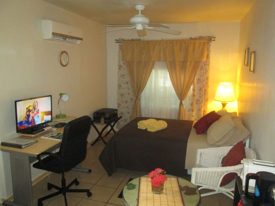 This is your cozy room at our place
