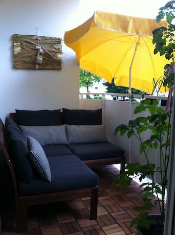 Idylle im Grünen - sehr zentral - Erding - Appartement en résidence
