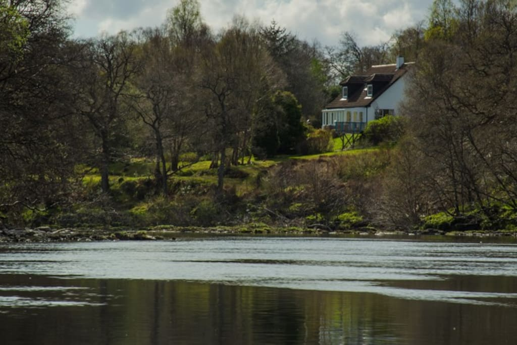 View of house from River Spean