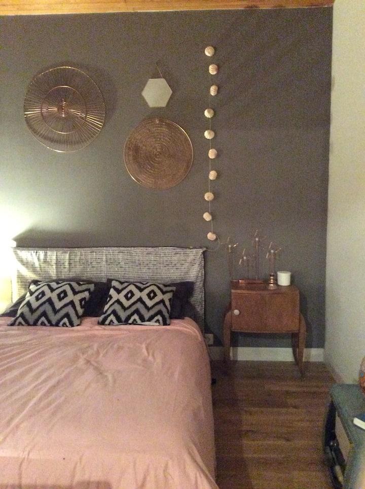 Chambre avec sdb privée  à Toulouse St Simon calme