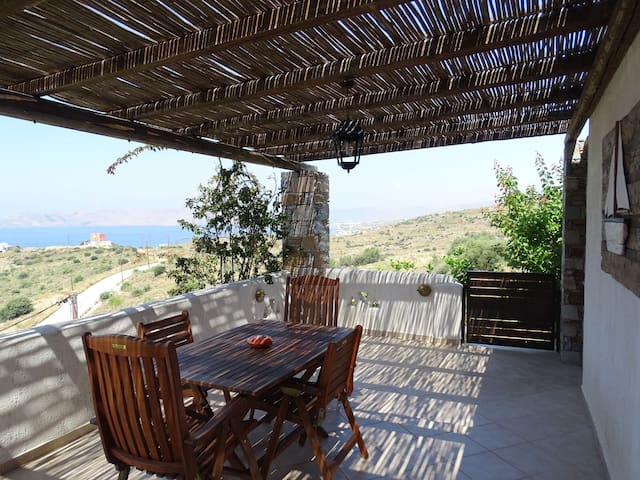 Traditional Aegean Villa with a stunning sea view