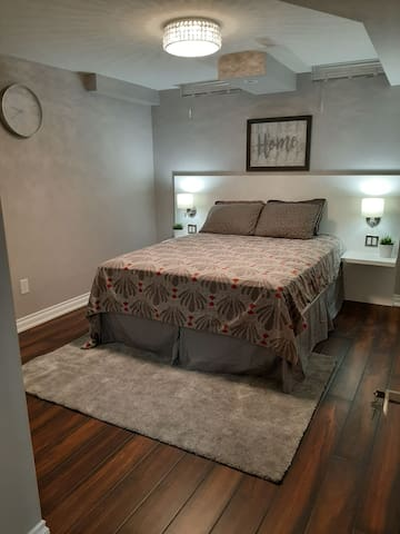 1+1bed,1 bath,Basement Apartment @ $1600 a month.