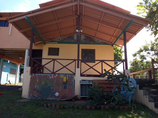 TWO -STORY COTTAGE AT THE BEACH IN GUARARE