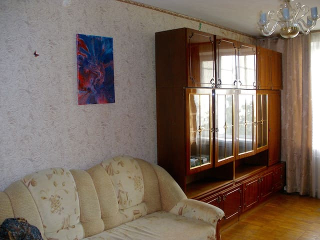 Nice room in peaceful and beautiful area of Kyiv