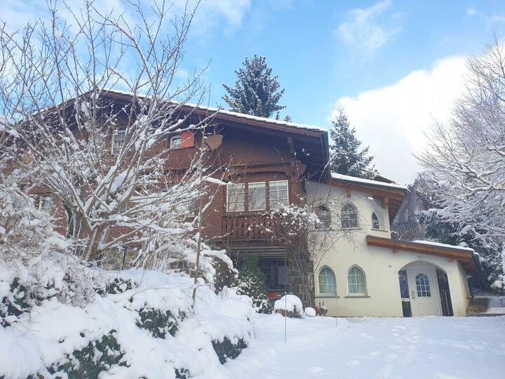 Chalet Müsli: Haus für 8P am Fusse des  Schafbergs