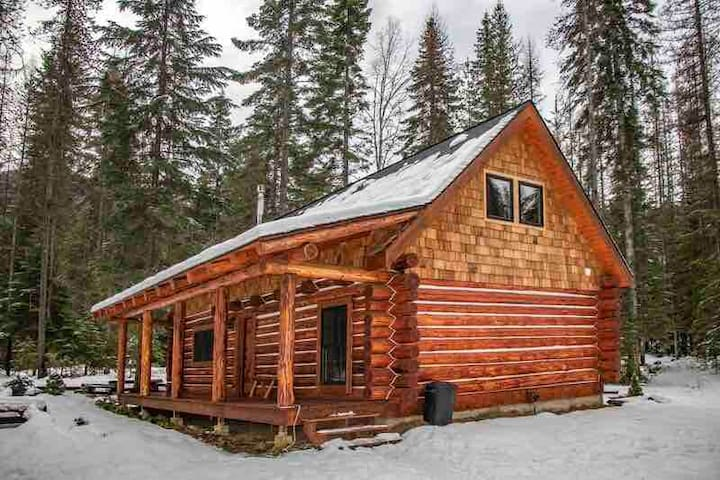 Log cabin getaway