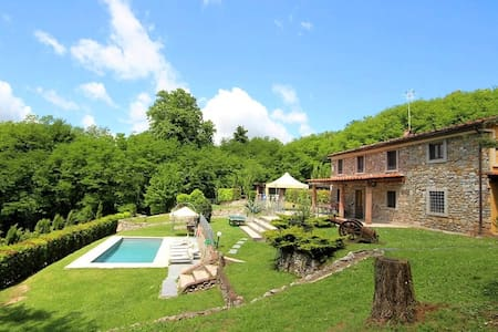 Tuscany Lucca - Villa private pool ALL INCLUSIVE - San Martino In freddana - Pescaglia