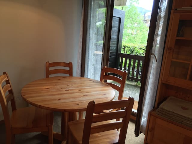 Apartment with terrace-GVA in 35min - Saint-Cergue - Departamento