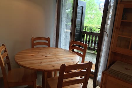 Apartment with terrace-GVA in 35min - Saint-Cergue - Apartemen