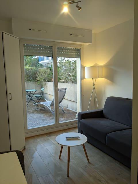 Studio cosy à proximité de l'hyper centre