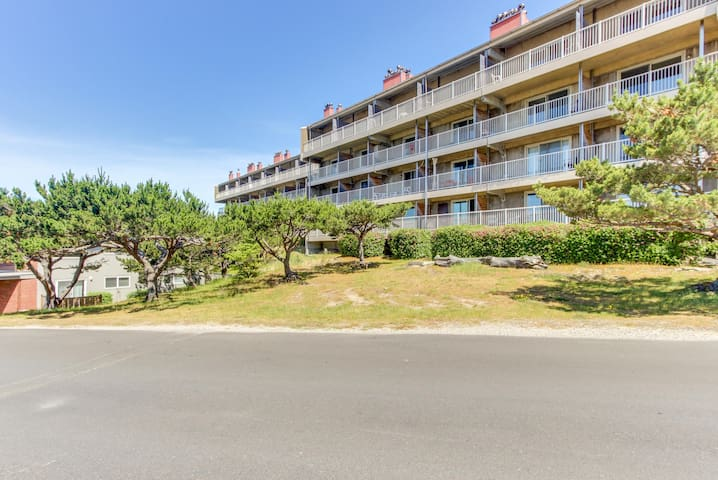Play golf, then relax at the pool and hot tub at this oceanview condo!