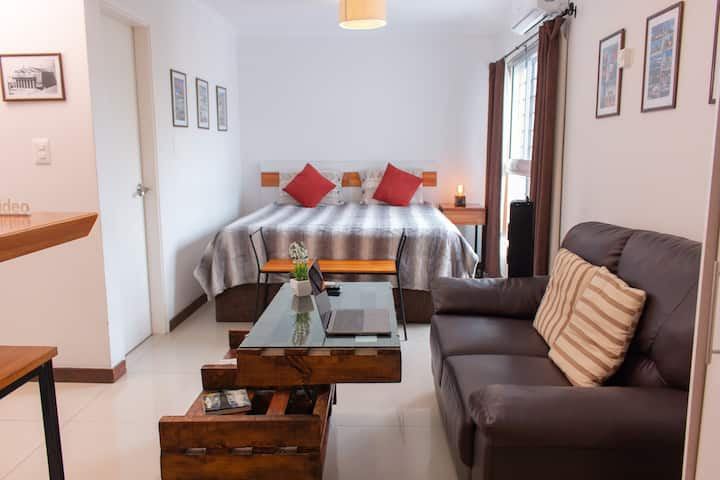 Superior Studio 1 with King bed 200m from the sea