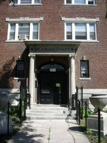Mid-town/Cass Corridor 1 bedroom apartment - Detroit - Daire