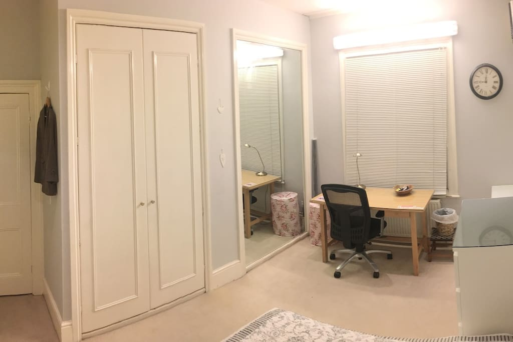 The room has been recently redecorated and is in prime condition!
