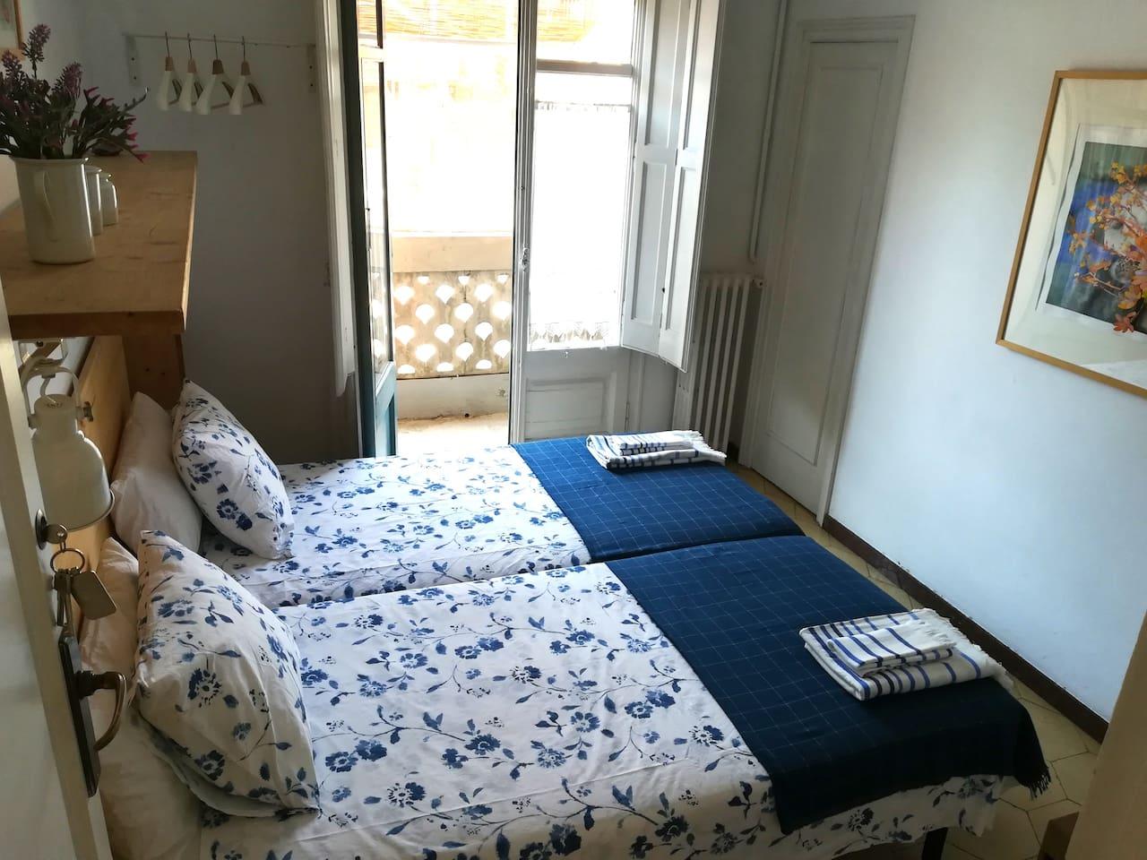 Habitación de 2 camas individuales