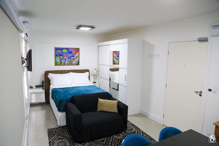 Apartamento no centro de Floripa - Studio 507