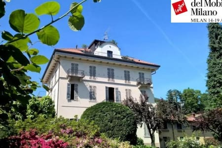 Ancient villa fireplace, large panoramic terrace - Dagnente, frazione di Arona