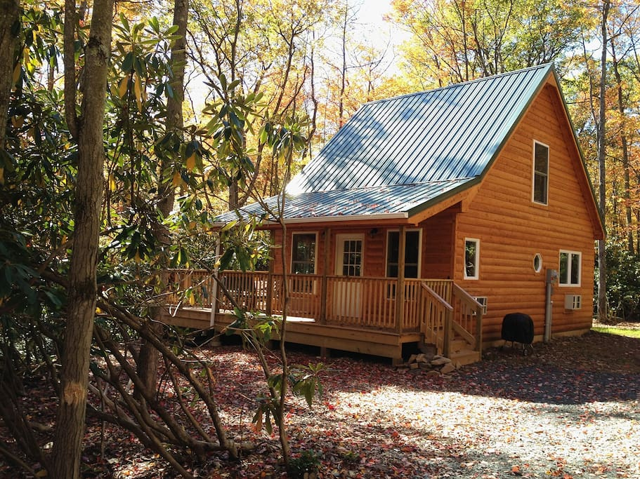 a cabin gem in the poconos cottages for rent in jim