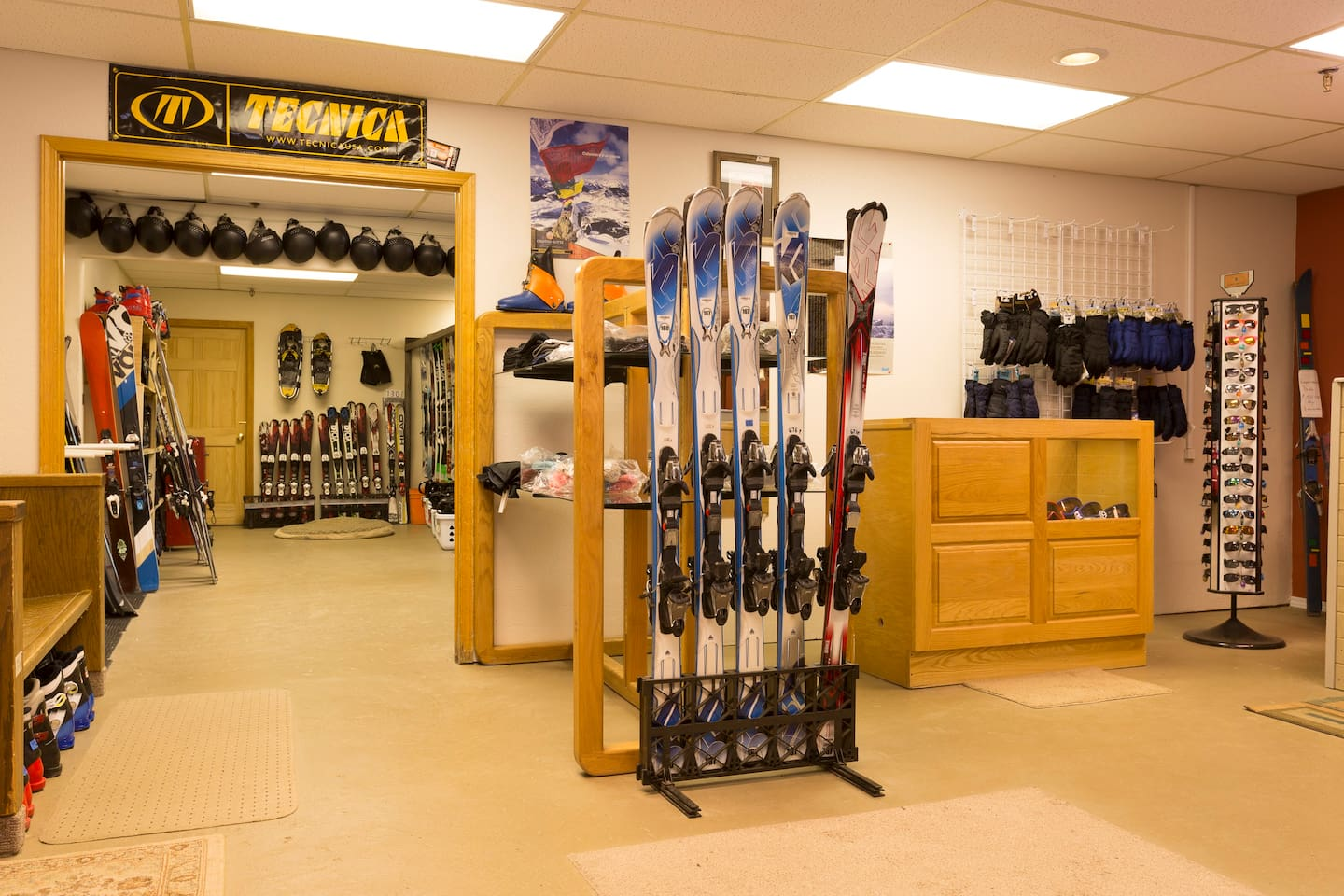 Our community's ski, snowshoe, snowboard, rental shop. Awesome owner and customer service!