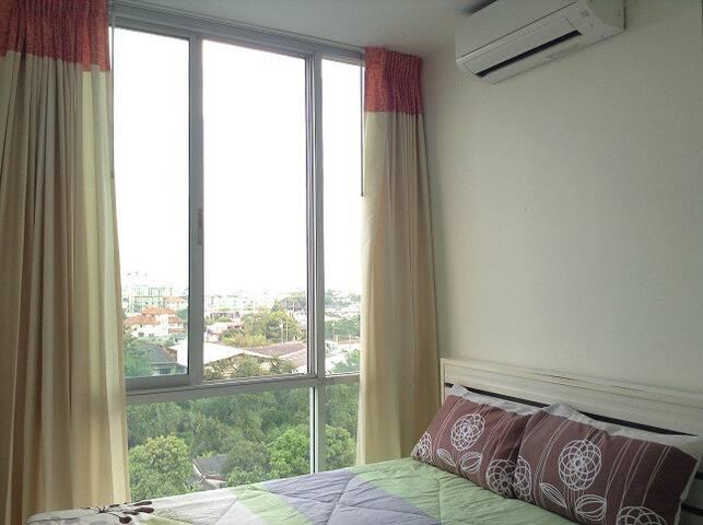 Orange Bliz with Wi-Fi - Bangkok - Apartemen